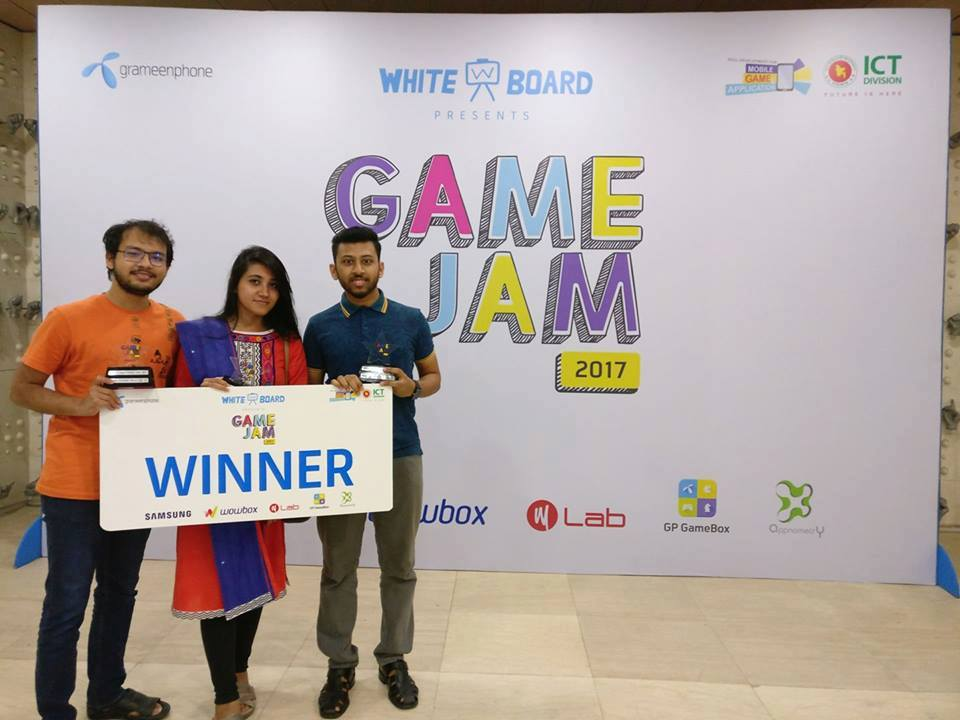 Winners of GP GAME JAM 2017